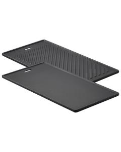 Rösle Grillplatte VIDERO, 24 x 45 cm (passend ab Modeljahr 2021)