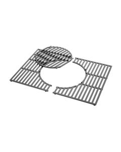 Weber Gourmet BBQ System - Grillrost mit Grillrosteinsatz aus Gusseisen für Spirit® 300 - Serie